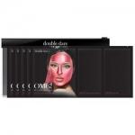 Фото Double Dare OMG! Platinum Hot Pink Facial Mask Kit - Трехкомпонентный комплекс масок Сияние и ровный тон, упаковка 5 штук