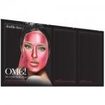 Фото Double Dare OMG! Platinum Hot Pink Facial Mask Kit - Трехкомпонентный комплекс масок Сияние и ровный тон