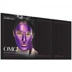 Фото Double Dare OMG! Platinum Purple Facial Mask Kit - Трехкомпонентный комплекс масок Глубокое увлажнение и релакс