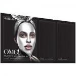 Фото Double Dare OMG! Platinum Silver Facial Mask Kit - Трёхкомпонентный комплекс масок Активный лифтинг и восстановление