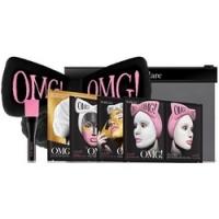 Купить Double Dare OMG! Premium Package Black - Набор из 4 масок, кисти и черного банта