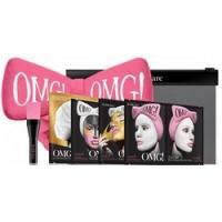 Купить Double Dare OMG! Premium Package Hard-Pink - Набор из 4 масок, кисти и ярко-розового банта
