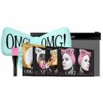 Фото Double Dare OMG! Premium Package Sky Blue - Набор из 4 масок, кисти и мятного банта