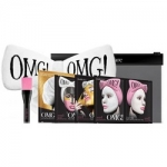 Фото Double Dare OMG! Premium Package White - Набор из 4 масок, кисти и белого банта