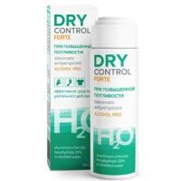 Купить Dry Control Forte H2O - Антиперспирант без спирта от обильного потоотделения 20%, 50 мл