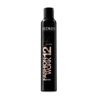Redken Styling Fashion Work 12 - Универсальный спрей для фиксации волос, 400 мл