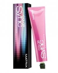 Фото Matrix Color Sync Metal Silver Grey Platin - Краска для волос Серебристый серый, 90 мл