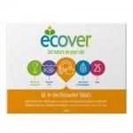 Фото Ecover - Таблетки для посудомоечной машины три в одном, 500 гр