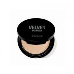 Фото Divage Velvet - Пудра компактная двухцветная, тон 01, 9 гр