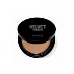 Фото Divage Velvet - Пудра компактная двухцветная, тон 02, 9 гр