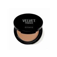Divage Velvet - Пудра компактная двухцветная, тон 02, 9 гр