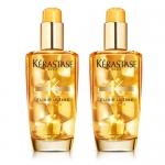 Фото Kerastase Elixir Ultime Versatile Beautifying Oil - Набор Многофункциональное масло для всех типов волос, 2 шт х 100 мл