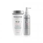 Фото Kerastase Prevention Stimuliste - Набор Победа над выпадением: Шампунь - Ванна + Уход - Спрей от выпадения волос, 250 мл  +  125 мл