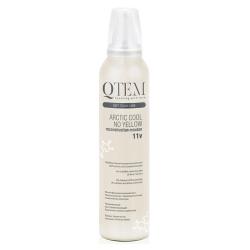 Фото QTEM Arctic Cool No Yellow - Мусс реконструктор для волос