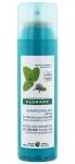 Фото Klorane Mint Detox Dry Shampoo With Organic Aquatic Mint Pollution Exposed Hair - Сухой шампунь детокс с экстрактом водной мяты, 150 мл