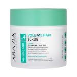Фото Aravia Professional - Скраб для кожи головы для активного очищения и прикорневого объема, 300 мл