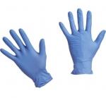 Фото Чистовье Safe & Care - Голубые медицинские перчатки нитрил, размер М, 100 шт