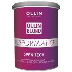 Фото Ollin Professional Blond Performance Open Tech - Осветляющий порошок для открытых техник обесцвечивания волос, 500 г