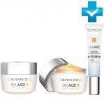 Фото Dermedic Oilage Anty Ageing - Набор: Дневной крем + Ночной крем + Крем для глаз, 50 г + 50 г + 15 г