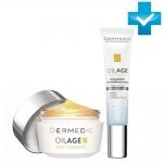 Фото Dermedic Oilage Anty Ageing - Набор: Ночной крем + Крем для глаз, 50 г + 15 г
