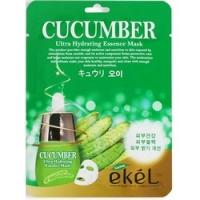 Купить Ekel Cucumber Ultra Hydrating Essence Mask - Маска тканевая с экстрактом огурца, 25 г