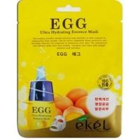Купить Ekel EGG Ultra Hydrating Mask - Маска тканевая с экстрактом яичного желтка, 25 г