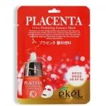 Фото Ekel Placenta Ultra Hydrating Essense Mask - Маска тканевая с экстрактом плаценты, 25 г