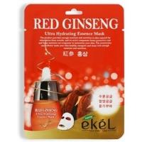 Купить Ekel Red Ginseng Essential Mask - Маска тканевая с экстрактом с красного женьшеня, 25 г