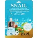 Фото Ekel Snail Ultra Hydrating Mask - Маска тканевая с улиточным муцином, 25 г