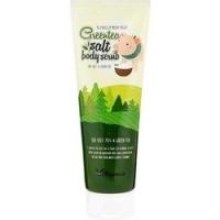 Elizavecca Greentea salt Body Scrub - Скраб для тела с экстрактом зеленого чая, 300 г фото