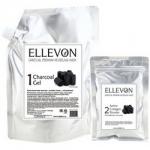 Фото Ellevon Premium Mask Charcoal - Маска альгинатная с углем, гель и коллаген