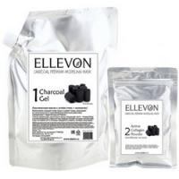 Ellevon Premium Mask Charcoal - Маска альгинатная с углем, гель и коллаген<br>