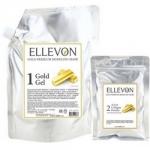 Фото Ellevon Premium Mask Gold - Маска альгинатная с золотом, гель и коллаген