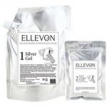 Фото Ellevon Premium Mask Silver - Маска альгинатная с серебром, гель и коллаген