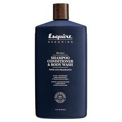 Esquire Grooming Men The 3-in-1 Shampoo, Conditioner&Body Wash - 3 в 1 шампунь, кондиционер и гель для душа, 414 мл