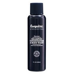 Фото Esquire Grooming Men The 3-in-1 Shampoo, Conditioner&Body Wash - 3 в 1 шампунь, кондиционер и гель для душа, 89 мл