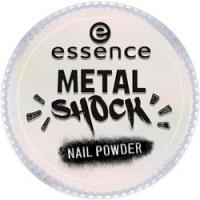 essence B-To-B Metal Shock Nail Powder - Эффектная пудра для ногтей, розовый перламутр тон 03