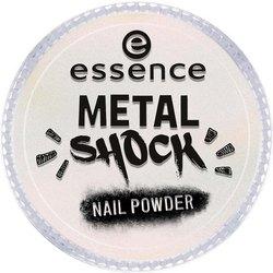 Фото essence B-To-B Metal Shock Nail Powder - Эффектная пудра для ногтей, розовый перламутр тон 03
