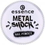 Фото essence B-To-B Metal Shock Nail Powder - Эффектная пудра для ногтей, синий перламутр тон 05