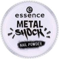 essence B-To-B Metal Shock Nail Powder - Эффектная пудра для ногтей, синий перламутр тон 05