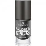 Фото essence Brushed Metals Nail Polish - Лак для ногтей, серый металлик, тон 06