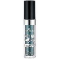 essence Metal Shock Eyeshadow - Тени для век, тон 04 зеленый с блеском