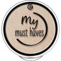 essence My Must Haves Eyeshadow - Тени для век, тон 01 песочный с блеском