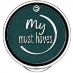 Фото essence My Must Haves Eyeshadow - Тени для век, тон 21 темно-зеленый с блеском