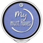 Фото essence My Must Haves Eyeshadow - Тени для век, тон 22 синий с блеском