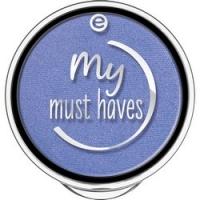 essence My Must Haves Eyeshadow - Тени для век, тон 22 синий с блеском