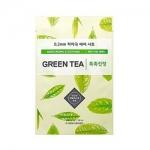 Фото Etude House 0.2 Therapy Air Mask Green Tea - Маска тканевая для лица с экстрактом зеленого чая, 20 мл