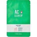 Фото Etude House Clean Up AC Mask Sheet - Маска тканевая для проблемной кожи, 27 г