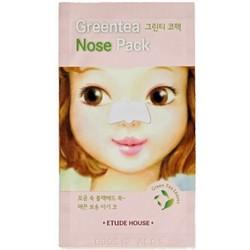 Фото Etude House Greentea Nose Pack - Патч очищающий для носа, 0,65 мл