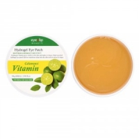 Eyenlip Calamansi Vitamin Hydrogel Eye Patch - Гидрогелевые патчи для глаз с экстрактом каламанси, 60 шт